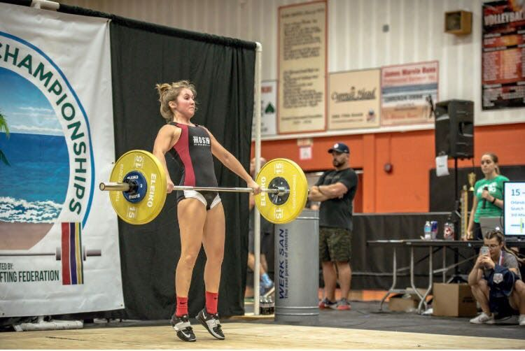 Youth and Junior Weightlifting